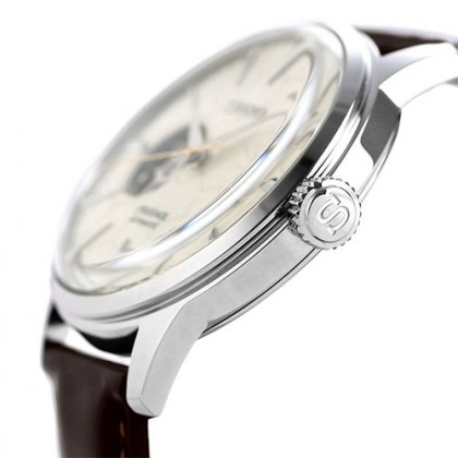 Seiko SSA781J1 Women's Presage Automatic Cocktail STAR BAR Honeycomb Open Heart LIMITED EDITION Watch (Made in Japan)