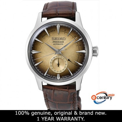 Seiko SSA401J1 Men's Presage Cocktail Irish Coffee Power Reserve Indicator ASIA LIMITED EDITION Watch (Made in Japan)