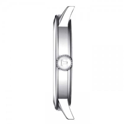 Tissot T129.410.16.013.00 Men's Quartz T-Classic Classic Dream Brown Leather Strap Watch