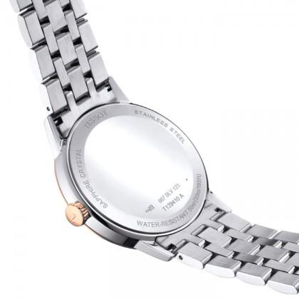 Tissot T129.410.22.013.00 Men's Quartz T-Classic Classic Dream Two-Tone Stainless Steel Bracelet Watch