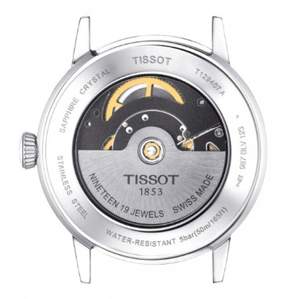 Tissot T129.407.11.051.00 Men's Automatic T-Classic Classic Dream Swissmatic Stainless Steel Bracelet Watch