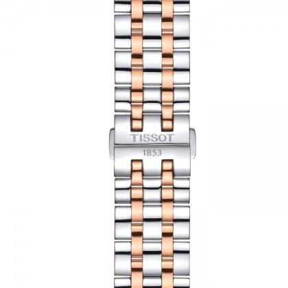 Tissot T129.407.22.031.00 Men's Automatic T-Classic Classic Dream Swissmatic Two-Tone Stainless Steel Bracelet Watch