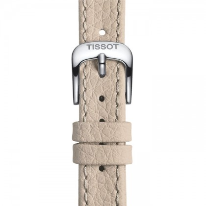 Tissot T129.210.16.033.00 Women's Quartz T-Classic Classic Dream Grey Leather Strap Watch