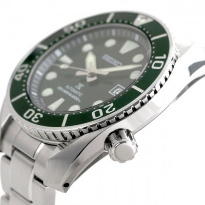 Seiko SPB103J1 Men's Prospex Automatic Green SUMO Divers 200M Stainless Steel Bracelet Watch (MADE IN JAPAN)