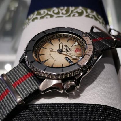 Seiko 5 Sports SRPF71K1 Automatic Naruto & Boruto LIMITED EDITION Watch - GAARA