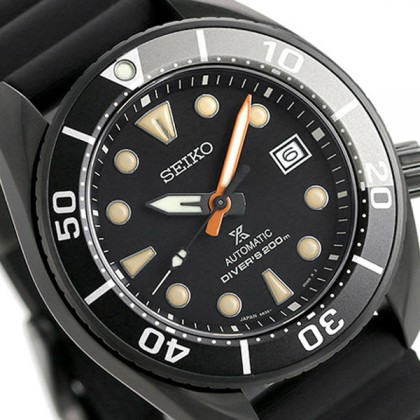 Seiko SPB125J1 Men's Automatic Prospex SUMO Black Series Limited Edition Watch