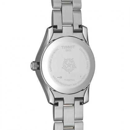 Tissot T112.210.22.113.00 Women's T-Lady T-Wave Quartz Two-Tone Stainless Steel Bracelet Watch